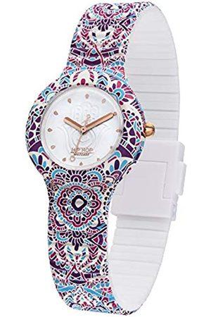 Hip Damen Uhren - Damen Analog Quarz Uhr mit Silikon Armband HWU1041