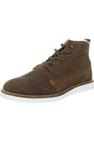 Hub Mode W25-02 WS03-21, Damen Fashion Sneakers, (Brown/wht)