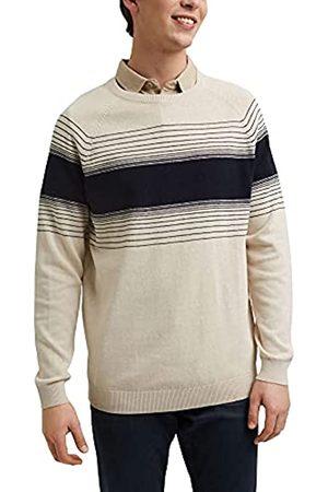 Esprit Leinen/Organic Cotton: Pullover mit Streifen