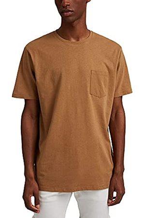Esprit Mit Leinen: Jersey-Shirt mit Tasche