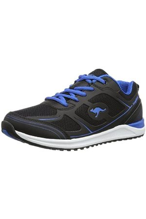 KangaROOS Ovid 3570A Damen Sneaker, (Black/royal Blue 545)