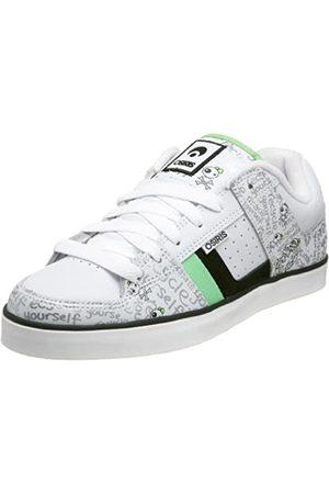 Osiris LibraBeckyBonesShoes-Recycled~White~Green-UK3