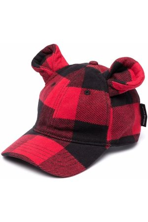 Palm Angels PALM ANGELS FUNNY CAP RED BLACK