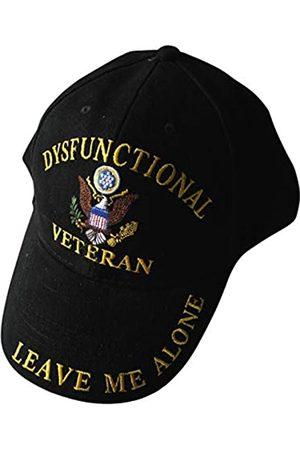 Unbekannt Ee Dysfunctional Veteran Direct Embroidered Hat - Black - Veteran Owned Business