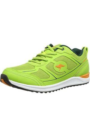 KangaROOS Ovid 3570A Damen Sneaker, (Lime/ 878)