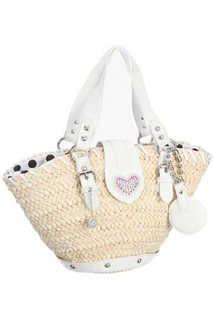 Fornarina Bags FEBE B663X176, Damen, Shopper, Weiss (WHITE)