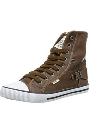 ESPRIT Benny Lu Bootie 024EKKW004, Unisex-Kinder Sneaker, (cuoio 920)