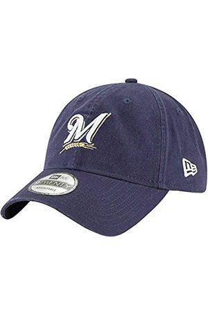 New Era Milwaukee Brewers 9Twenty MLB Twill Core Classic verstellbare Mütze – Marineblau