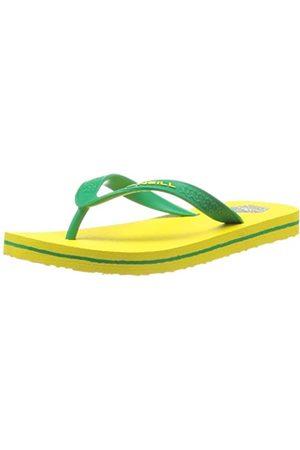 O'Neill Jungen Flip Flops - Jungen FTB World Cup Zehentrenner, (Brazil 1108)