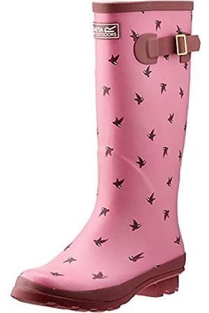 Regatta Damen Ly Fairweather II Rain Boot, Violet/RseBl