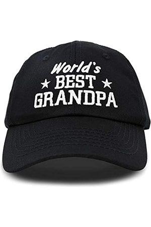 """DALIX Mütze mit Aufschrift """"Worlds Best Grandpa Dad"""", Geschenk für Großvater"""