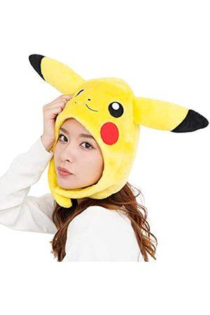 SAZAC Kigurumi Mütze - Pokemon - Pikachu - Cozy Costume Beanie Cap - Erwachsene Größe