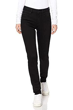 G-Star Damen Jeans Shape High Waist Super Skinny, Schwarz (Rinsed 9142-082)