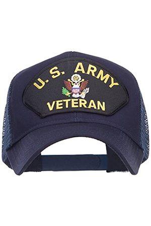 e4Hats.com US Army Veteran Military Patched Mesh Cap - - Einheitsgröße