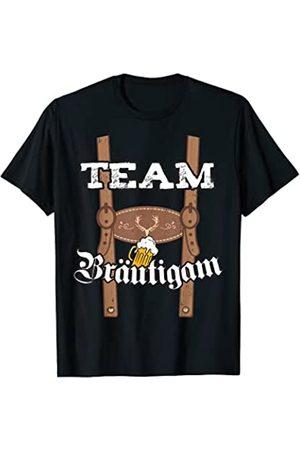 Team Bräutigam Tracht Team Bräutigam Lederhose Tracht JGA Männer lustig fun Bayern T-Shirt