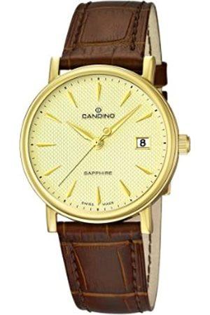 Candino Herren-Armbanduhr XL Analog Quarz Leder C4489/3
