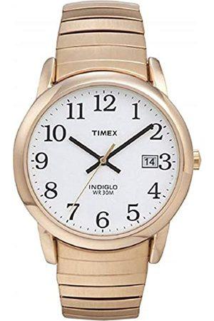 Timex Herren Quarz Uhr mit Edelstahl beschichted Armband T2H301