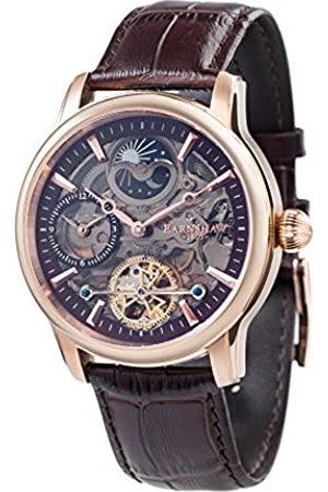 THOMAS EARNSHAW Herren Uhren - Longitude Shadow ES-8063-06 Herren-Armbanduhr mit Automatikgetriebe, braunes Zifferblatt mit Skelett-Anzeige