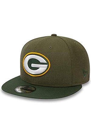 New Era 9Fifty Snapback Cap - Heather Green Bay Packers S/M