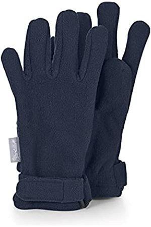 Sterntaler Fingerhandschuhe aus wasserabweisendem Microfleece mit Klettverschluss, Alter: 10-11 Jahre, Größe: 6