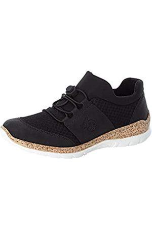 Rieker Damen Low-Top Sneaker N42U8, Frauen Halbschuhe,Women's,Halbschuhe,straßenschuhe,sportlich,weiblich,Lady,Woman, (00)