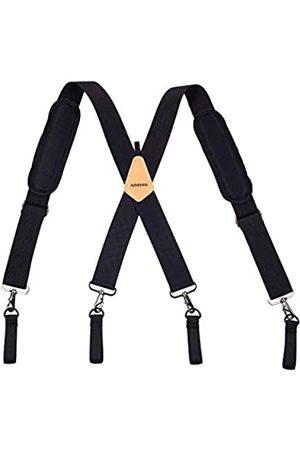 AISENIN Gepolsterter Werkzeuggürtel Hosenträger Schreiner Werkzeug Gürtel Hosenträger für Herren mit Schulterpolster