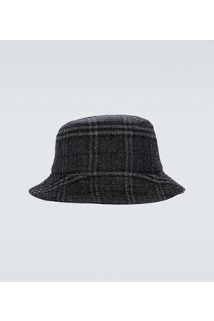 Burberry Hüte - Karierter Fischerhut aus Wolle