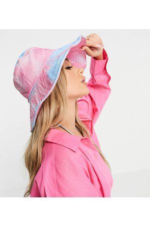 Glamorous Damen Hüte - – Exklusiver Anglerhut in Batikoptik-Mehrfarbig