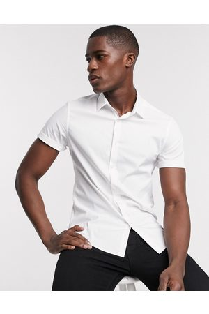 ASOS – Schmal geschnittenes Stretch-Hemd in
