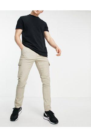 COLLUSION – Dad-Shorts aus blauem Denim mit Zierrissen