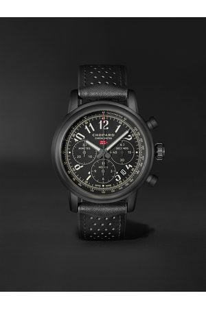 Chopard Herren Uhren - Mille Miglia 2020 Race Edition Limited Edition Automatic Chronograph 42mm Stainless Steel and Leather Watch, Ref. No. 168589-3028