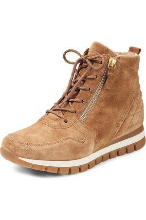 Gabor Damen Sneakers - Knöchelhoher Keil-Sneaker Größe: 43