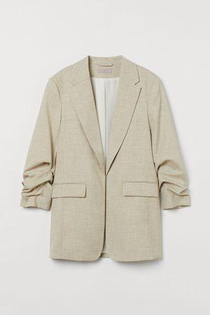 H&M Damen Blazer & Sakkos - Blazer mit gerafftem Arm