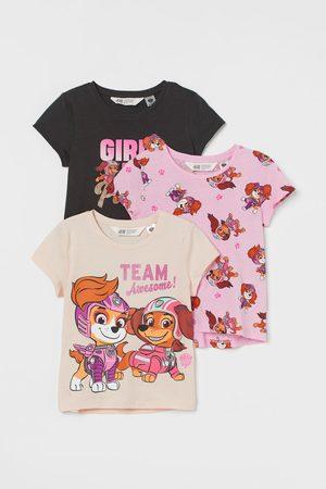 H&M 3er-Pack Shirts mit Druck