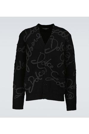 Dolce & Gabbana Bestickter Cardigan aus Wolle und Seide