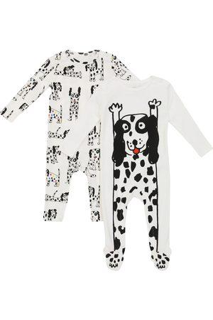 Stella McCartney Baby Set aus zwei Stramplern aus Baumwolle