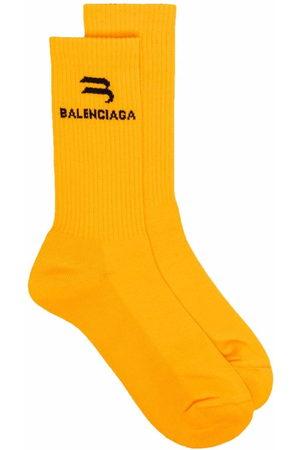Balenciaga Socken mit Logo-Print