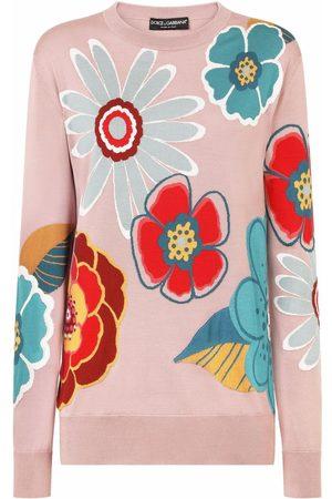 Dolce & Gabbana Pullover mit Blumen-Print
