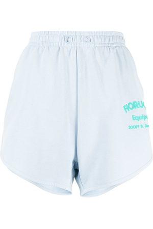 Fiorucci Shorts mit Logo-Print