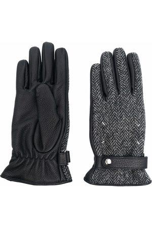 Maison Margiela Handschuhe mit Zickzackmuster