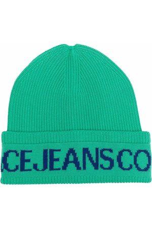 Versace Jeans Couture Damen Hüte - Mütze mit Logo-Print
