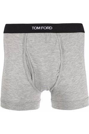 Tom Ford Herren Socken & Strümpfe - Shorts mit Logo-Bund