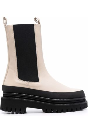 Paloma Barceló Damen Stiefeletten - Chelsea-Boots mit dicker Sohle