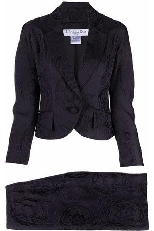 Dior 2009 pre-owned Jacquard-Kostüm