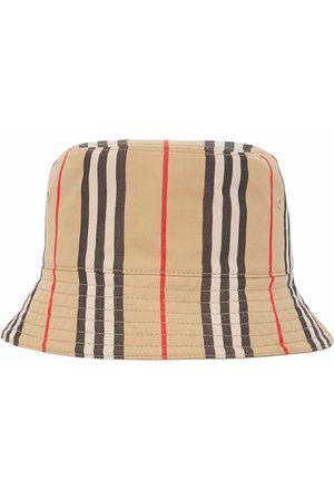 Burberry Icon Stripe Fischerhut