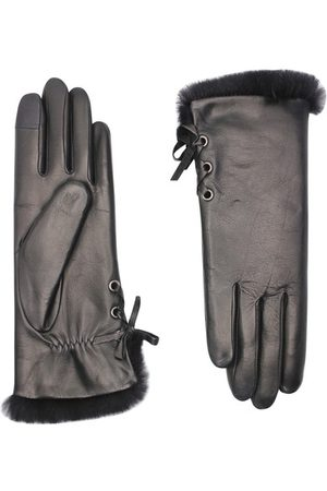 AGNELLE Handschuhe Aliette Taktil mit Futter aus Kaninchenfell