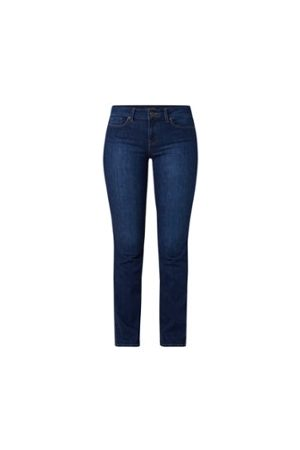 NYDJ Marilyn Straight Fit Jeans mit hoher Taille und Stretch