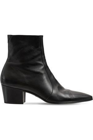 """Saint Laurent Hohe Stiefel Aus Lackleder """"vassili 60"""""""