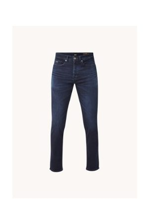 HUGO BOSS Taber Tapered Fit Jeans mit Stretch