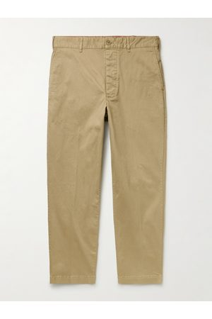 Alex Mill Tapered Cotton-Blend Twill Chinos